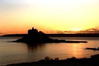 Sunset at St Michael's Mount